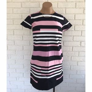 Joe Fresh Dresses & Skirts - ⚡️SALE⚡️NWT pink black and white striped dress