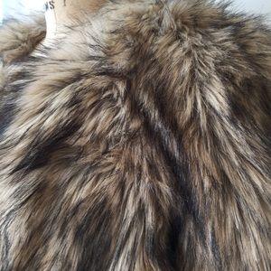MICHAEL Michael Kors Jackets & Coats - Michael Kors Faux Faux 3/4 Length Coat Size Large