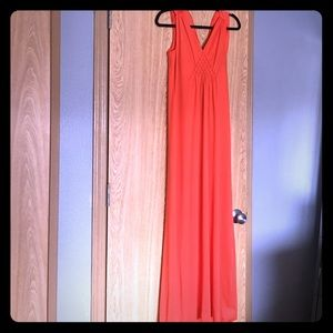 Dresses & Skirts - Beautiful Vintage orange Maxi dress
