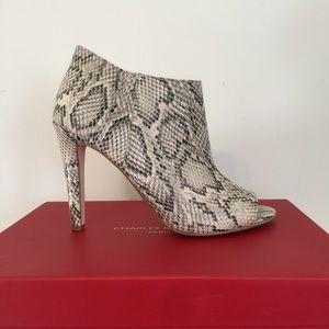 Charles Jourdan Shoes - Charles Jourdan Paris Snake print Heel