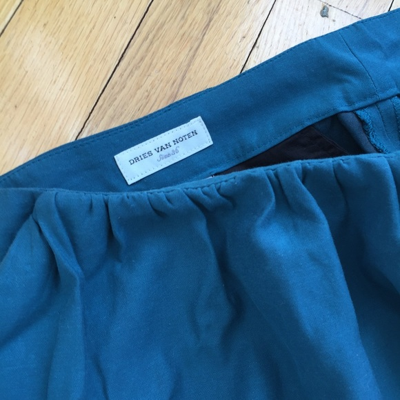Dries Van Noten Pants - Turquoise Dries Van Noten Pants Size 36 (4)