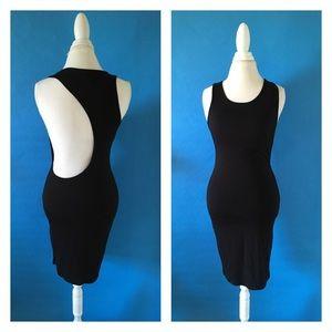 Nasty Gal Dresses & Skirts - Scoop back midi dress - M