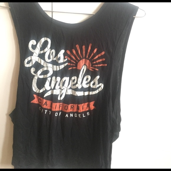 Tops - S/M Los Angeles Muscle Tank