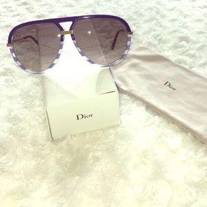 Christian Dior Accessories - 🎉HP🎉Christian Dior Croisette Aviator Sunglasses