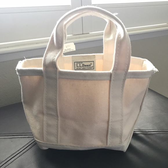 Awe Inspiring L L Bean Mini Boat And Tote Nwt Cjindustries Chair Design For Home Cjindustriesco