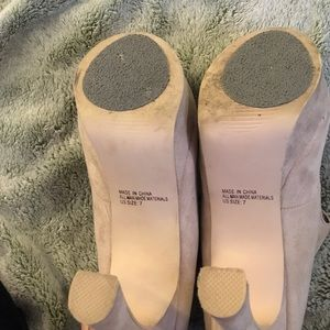 ad42d078ae2 Cathy Jean Shoes - Cathy Jean Mary Jane beige tan Ivory platform heel