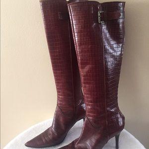 Philosophy di Alberta Ferretti Shoes - 🌷Beautiful ladies boots, alligator-like leather