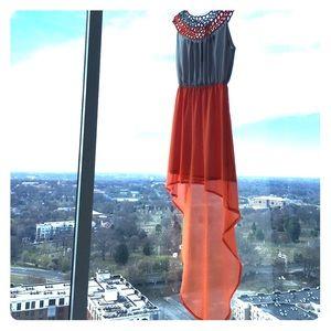 Dresses & Skirts - High low maxi dress