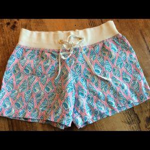 NWOT Lilly Pulitzer linen beach shorts sz small