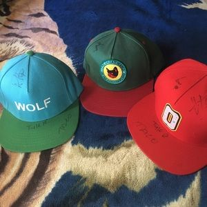 Golfwang oddfuture Autographed Hats.  200  300. Size  One ... 913bd33d25a5