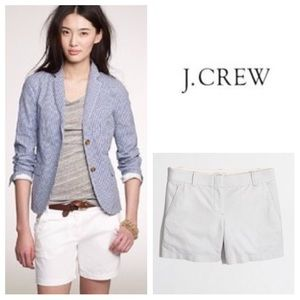 "J. Crew Pants - BEAUTIFUL!  J. Crew 5"" Oxford shorts in white"