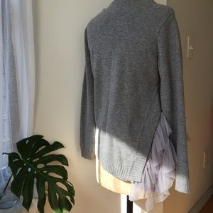 Sweaters - Storets tulle side sweater size Medium