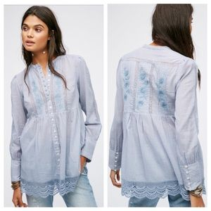"Free People Tops - Free People ""Those Little Doves"" Tunic."