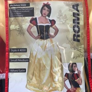 Other - Roma 3pc Deluxe Snow White Costume