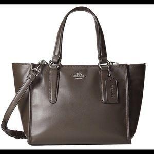 Coach Handbags - Coach mini Crosby  leather bag