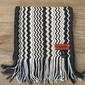 Missoni Accessories - Missoni Wool Zigzag Scarf