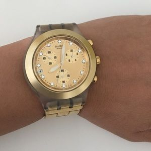 Swatch Accessories - SWATCH IRONY DIAPHANE - GOLD