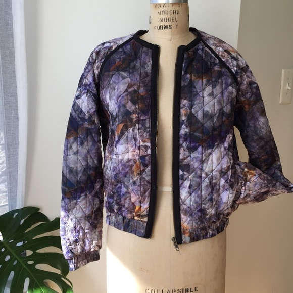 Jackets & Coats - 2nd Day Graphic Jacket Size Small