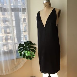 Solace London Black Sheath Dress Size Medium