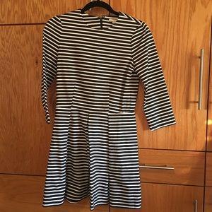 Gap striped dress with pockets