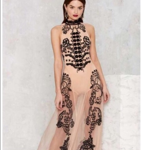 Nasty Gal Dresses Body Suit Prom Dress Poshmark