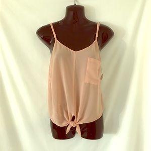 Sans Souci Tops - Perfect little blush tank blouse. By Sans Souci