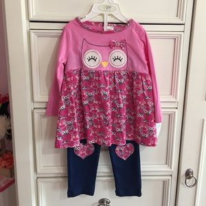 Baby Gear Other - 🌸NWT Toddler Two Piece Owl Outfit