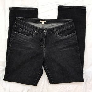 Eileen Fisher Denim - Eileen Fisher Black Straight Jeans