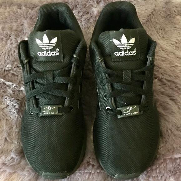 1fbf69b5e Adidas Other - Adidas Zx Flux C Preschool Size 2 Black