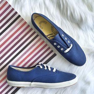 Keds Vintage 80s Canvas Oxford Sneaker Size 9.5 N
