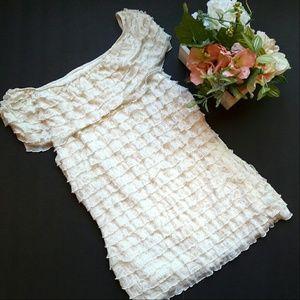 Dress Barn Tops - Dressbarn Collection - ruffled top