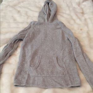 Grey Gap hooded sweater