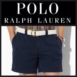 Polo by Ralph Lauren Pants - GORGEOUS!  Ralph Lauren Sport chino shorts in navy