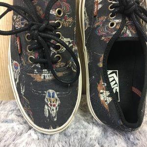 c470d1c1d390fe Vans Shoes - VANS Tribal Leader Cow Skull Skate Shoes