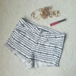 H&M • tribal print shorts