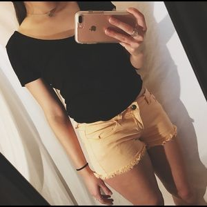 Forever 21 Pants - 🔆SALE🔆 Pale Pink Low Rise Shorts
