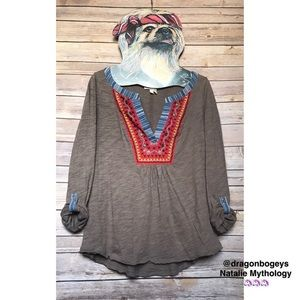 Anthropologie Tops - Anthropologie Cuoco Henley Top