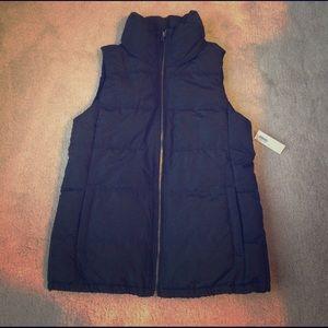 Old Navy Black Vest