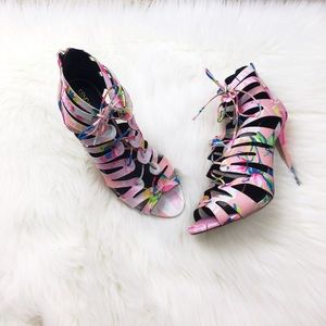 Kendall & Kylie Shoes - Kendall & Kylie by Madden Girl Floral Shoes