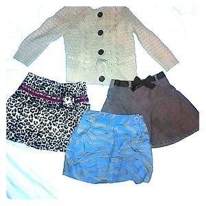 Gap Talbots Place 3 Skirts and  Sweater