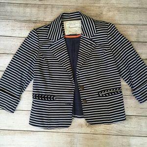 Anthropologie Cartonnier Striped Blazer