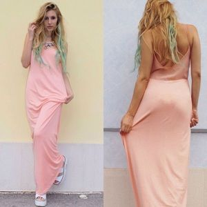 Zara Trafaluc Maxi Dress 