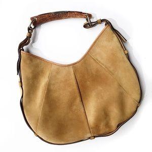 Yves Saint Laurent Handbags - Ysl Tom Ford Mombasa horn suede hobo bag