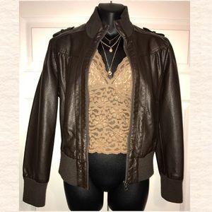 Heritage 1981 Jackets & Blazers - 💋Leather Jacket- Faux