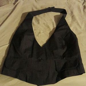 At Last Other - Cute pinstripe vest
