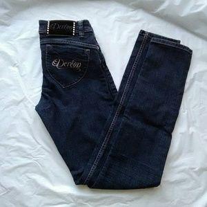 Dereon Denim - Dereon Dark Wash Skinny Jeans