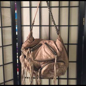 tarnish Handbags - Tarnish beige fringe bag