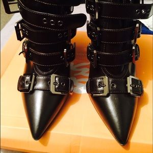 laurence dacade Shoes - Laurence Decade boots with buckles