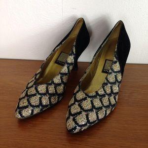 Nina Shoes - Mardi Gras shoes