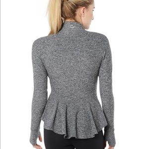 Beyond Yoga Jackets & Blazers - WORN ONCE Beyond Yoga Modern Muse Peplum Jacket SM